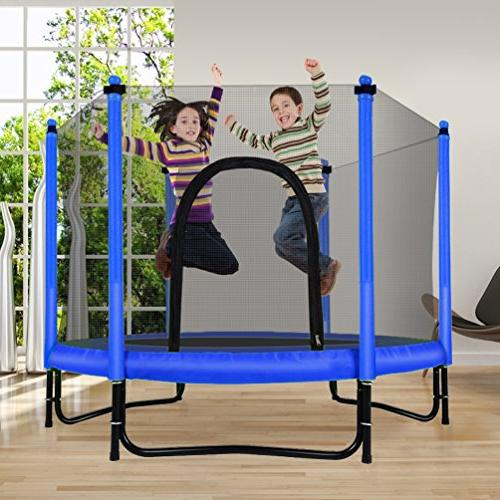 Fashionsport OUTFITTERS Trampoline with Safety Outdoor Trampoline