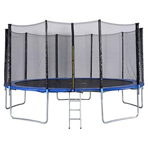 trampoline combo bounce jump safety