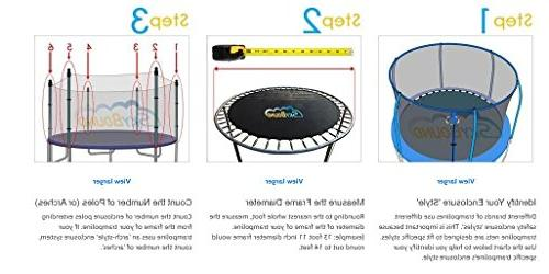 12 ft Trampoline - Fits Bounce Pro/SportsPower Trampolines 6 and Top