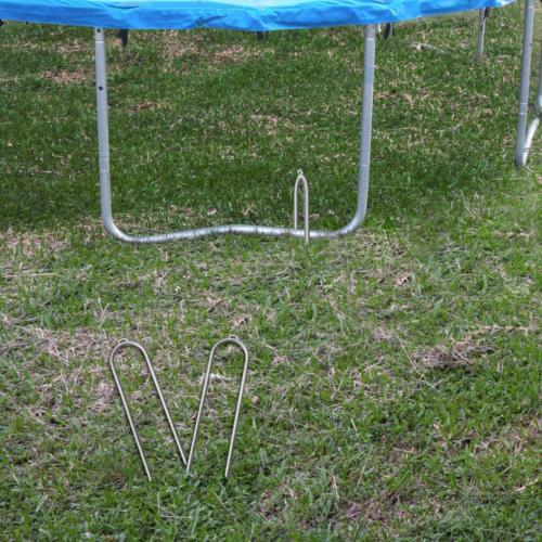 Trampoline Stakes-6 Pack-Trampoline