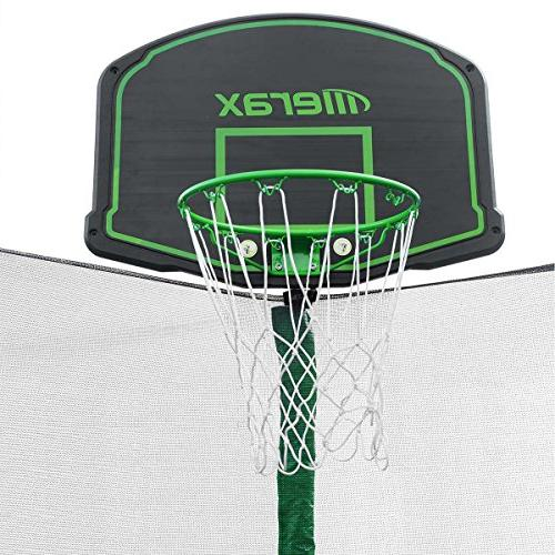 Merax 14FT with Enclosure Net, Basketball - BV Certificated Basketball