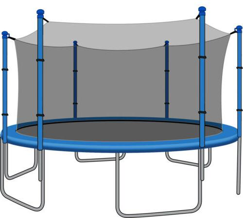 SkyBound 15ft Trampoline Net for JumpZone Trampolines