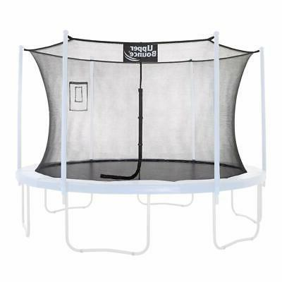trampoline safety enclosure replacement net with smartphone