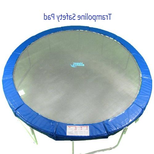 upper bounce trampoline safety pad