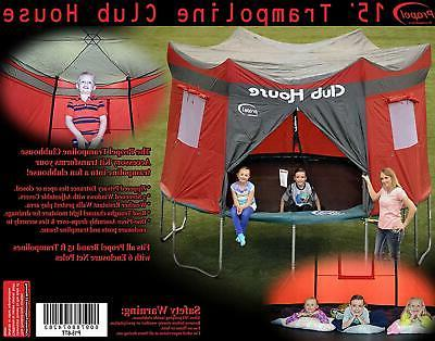 Trampoline Tent COVER 15 Ft Weather Resistant Outdoor Jump B