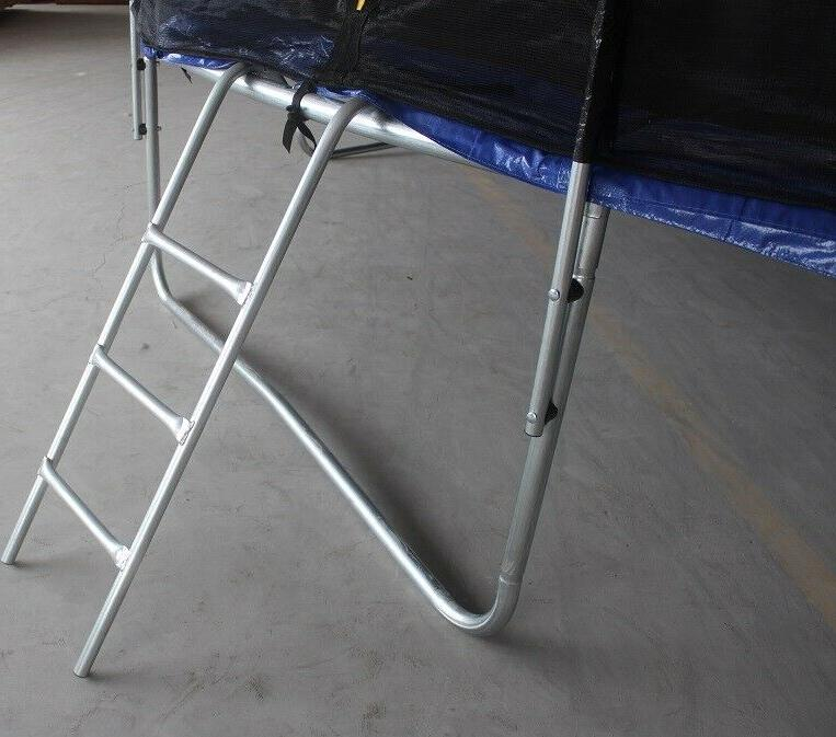 POWERT 14' Trampoline with Safety Net Ladder 14FT--Read ship