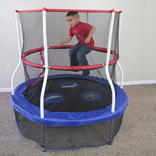 Skywalker Trampolines with – Kids Added Safety or Exceeds ASTM – Made 40-inch, 48-inch,