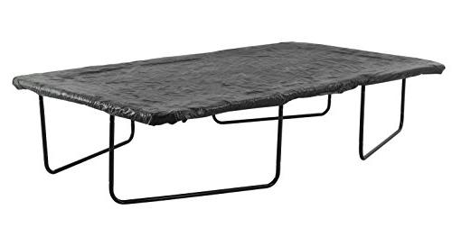 Upper Economy Trampoline Weather Protection Fits for 10 17'. Rectangular Black