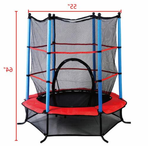 "Youth Round Trampoline 55"" Pad Combo Kids"