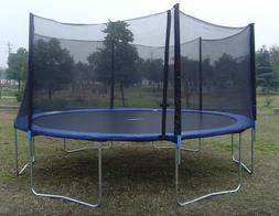 Exacme Trampoline with Safety Pad & Enclosure Net & Ladder A