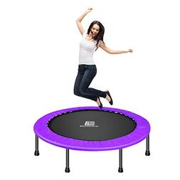 LXLA - 60 Inch Indoor Trampoline Fitness Round Bouncer for A