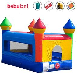 Mini Bounce House 12-Foot Length by 8-Foot Width by 8-Foot H