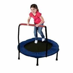 Mini Exercise Trampoline for Adults And Kids - With Safety P