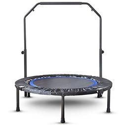 Mini Exercise Trampoline For Adults - Indoor Fitness Rebound