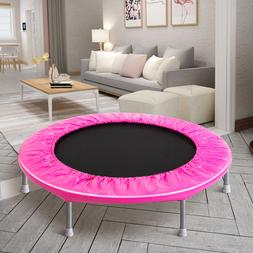 Mini Fitness Trampoline for Adults and Kids Foldable Workout