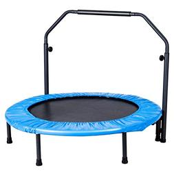 Giantex Mini Rebounder Trampoline with Handle Rail Bouncing