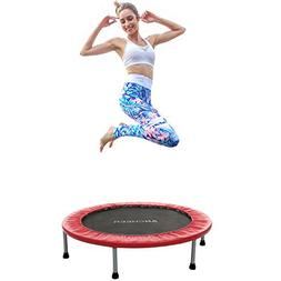 ANCHEER Mini Trampoline with Safety Pad, Bouncer Max Load 22