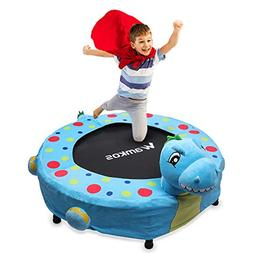 "Wamkos 36"" Mini Kids Trampoline - Best Dinosaur Toys for Tod"