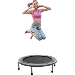 ANCHEER Mini Trampoline with Safety Pad, 220lbs Weight Capac