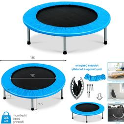 MINI TRAMPOLINE FOR ADULTS AND KIDS OUTDOOR AND INDOOR EXERC