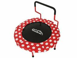 Mini Trampoline with Handle Bar for Toddlers with Foam pads
