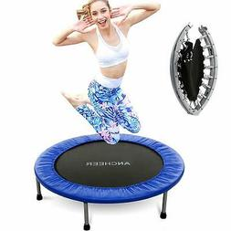 ANCHEER Mini Trampoline with Safety Pad Bouncer Max Load 220