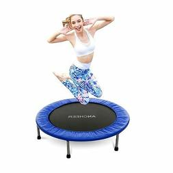 ANCHEER Mini Trampoline with Safety Pad, Rebounder Max Load