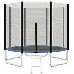 NET ONLY!!!  12FT Trampoline Safety Net Fits for Round Frame