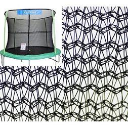Bazoongi NET12-JP4-7JK 12 ft. Enclosure Netting with 4 Poles
