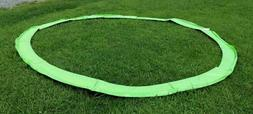 New Merax 14 Foot Round Trampoline spring  Safety cover neon