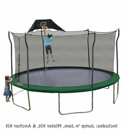 NEW Propel 15' Trampoline Combo Basketball Hoop Mister Ancho