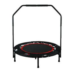 New 40 Inch Gym Trampoline Folding Bounce Bed Kid Adult Trai
