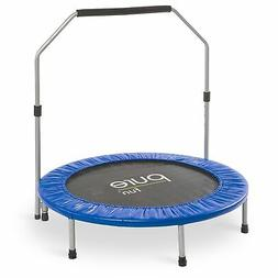 """New Pure Fun 40"""" Mini Rebounder Trampoline with Adjustable H"""