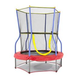 NEW HOT - Skywalker Trampolines Mini Trampoline with Enclosu