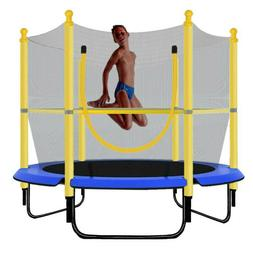 """Out/Indoor Jumping 60"""" Youth Kids Trampoline Exercise Safety"""