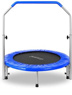"SereneLife Portable & Foldable Trampoline  40"" in-Home Mini"