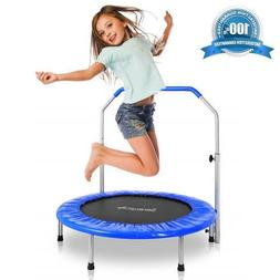 "SereneLife Portable & Foldable Trampoline - 36"" In-Home Mini"