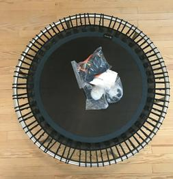 premium 49 mini fitness trampoline with workout