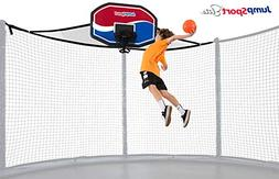 JumpSport Proflex Basketball Hoop & Inflatable Ball for Tram