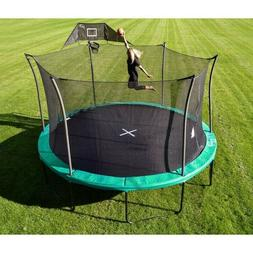 Propel Trampoline 15ft with Basketball Hoop and Safety Net