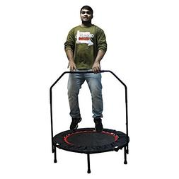 "Rayhome 40"" Indoor Mini Trampoline with Handle Bar for  Chil"
