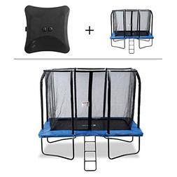 Exacme 7x10 FT Rectangle Trampoline with Enclosure and Jumpi