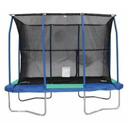 JumpKing 7 x 10 Foot Rectangular Trampoline with Padded Encl