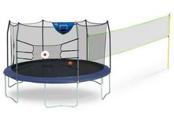 Skywalker Trampolines 15' Round Sports Arena Trampoline and