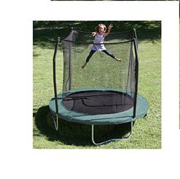 Skywalker Trampolines 8' Round Trampoline and Enclosure - Gr