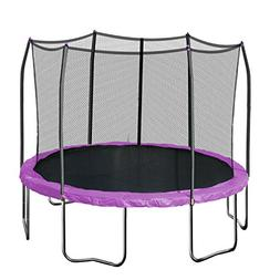 Skywalker Trampolines 12' Round Trampoline and Enclosure, Pu