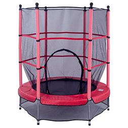 """DreamHank 55"""" Round Exercise Jumping Trampoline with Safety"""