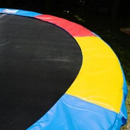 Multi Color 15 FT Trampoline Safety Pad EPE Foam Spring Cove
