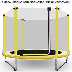 "BestWStore Safety 60"" Round Outdoor & Indoor Trampoline with"
