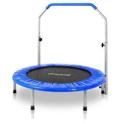 serenelife portable and foldable trampoline w adjustable